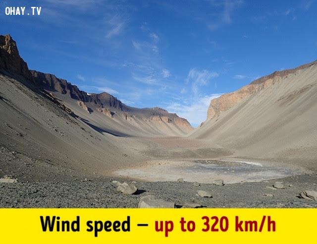 Nơi khô hạn nhất trên trái đất nằm ở Nam Cực,trái đất,những điều thú vị trong cuộc sống