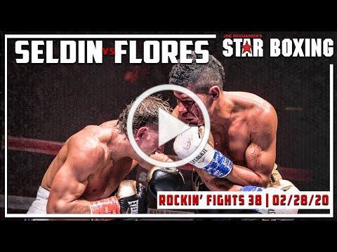 Rockin' Fights 38: Cletus Seldin vs Luis Flores NABA Title Bout