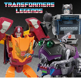 NEW TRANSFORMERS LEGENDS