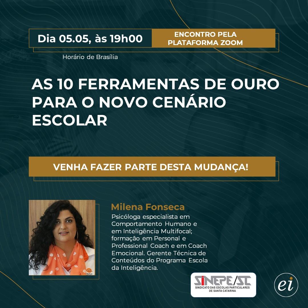 Milena Fonseca, Dia 05/05 às 19h