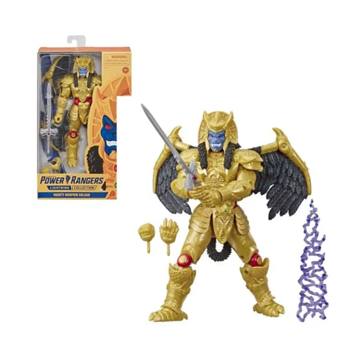 Image of Power Rangers Lightning Collection Goldar Action Figure