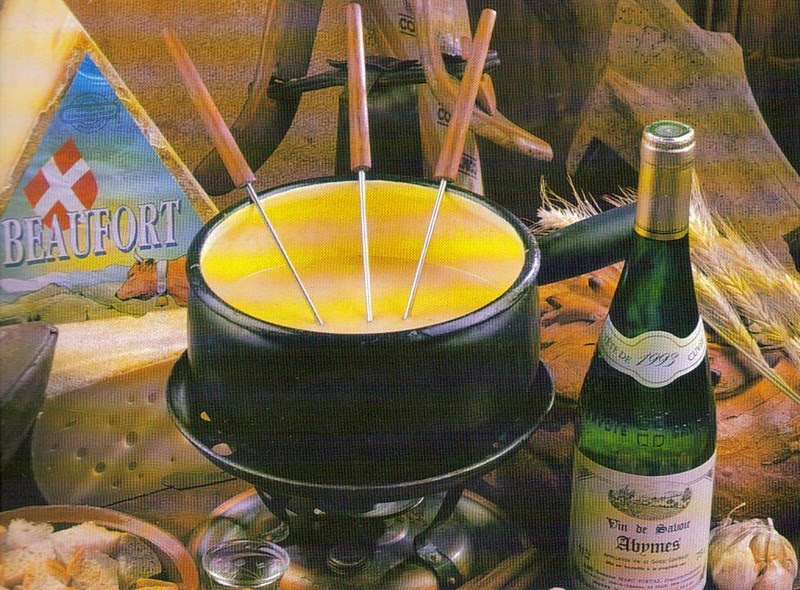 Fromage                   fondue Savoyarde. cuisinedevanessa.canalblog.com/