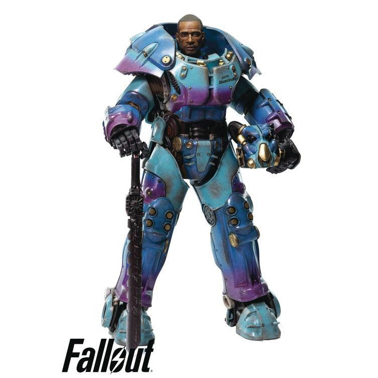 Image of Fallout X-01 Power Armor (Quantum Variant) 1/6 Scale PX Previews Exclusive Figure