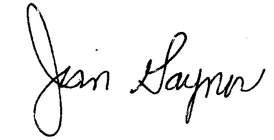 Jim Gaynor signature