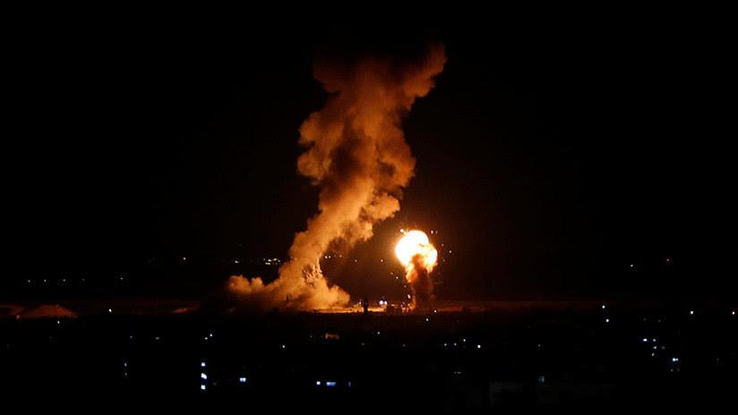 Unos 200 cohetes: Israel responde a un intenso fuego de mortero desde Gaza (VIDEOS)