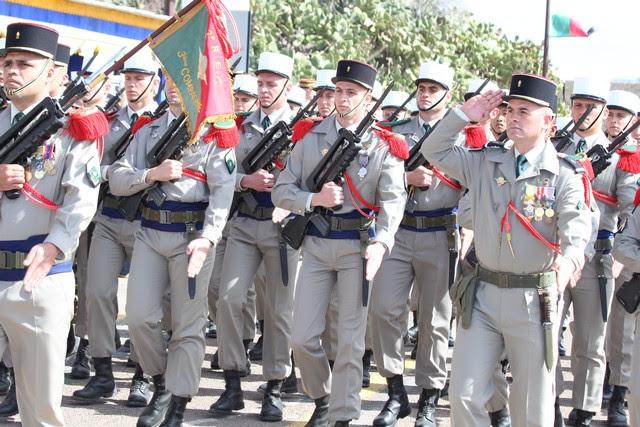 Prise d'armes et défilé en ville pour le cinquantenaire de l'arrivée du 2e REP à Calvi Gal-4499529