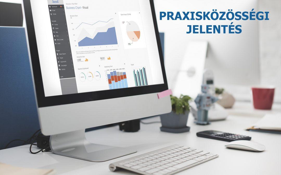 praxisközösségi jelentés