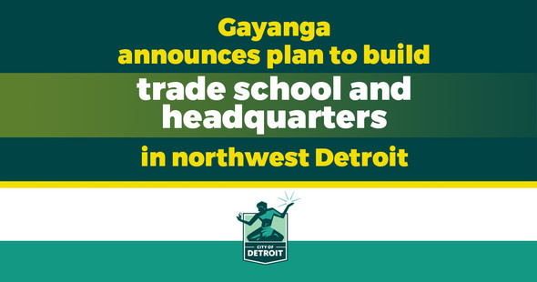 Gayanga Announces Plans for Trade School and Headquarters