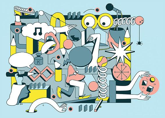 Illustrazione Elena Xausa_magazine BASE Milano