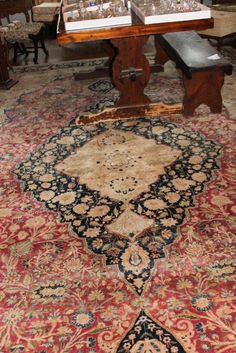 Rug sold for $6600 in this Boston area Estate Online Auction.