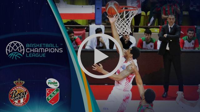 AS Monaco v Pinar Karsiyaka - Highlights - Basketball Champions League