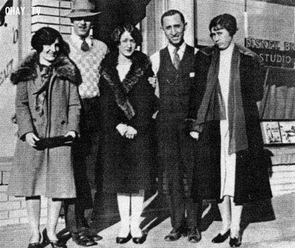 Công ty Walt Disney vào ngày họ mở Disney Studio,bức ảnh lịch sử,khoảnh khắc lịch sử