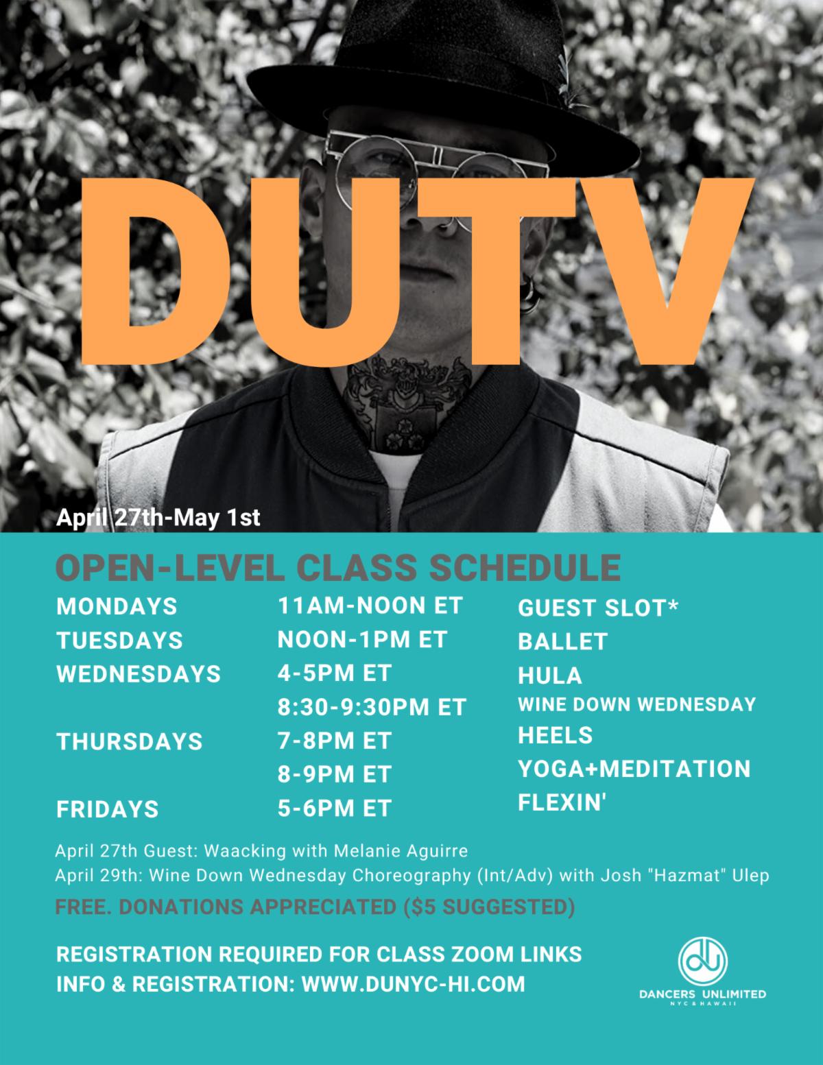 DUTV Virtual Classes