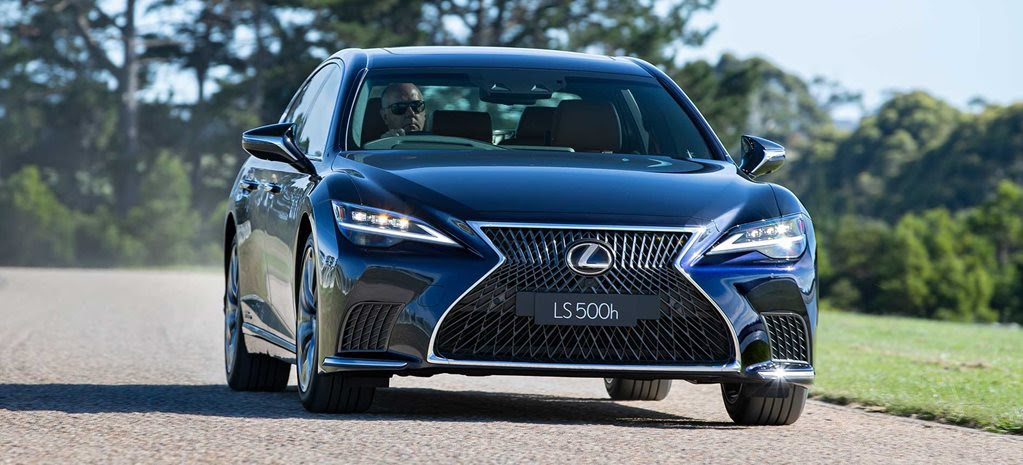 Lexus LS500h Sports Luxury review