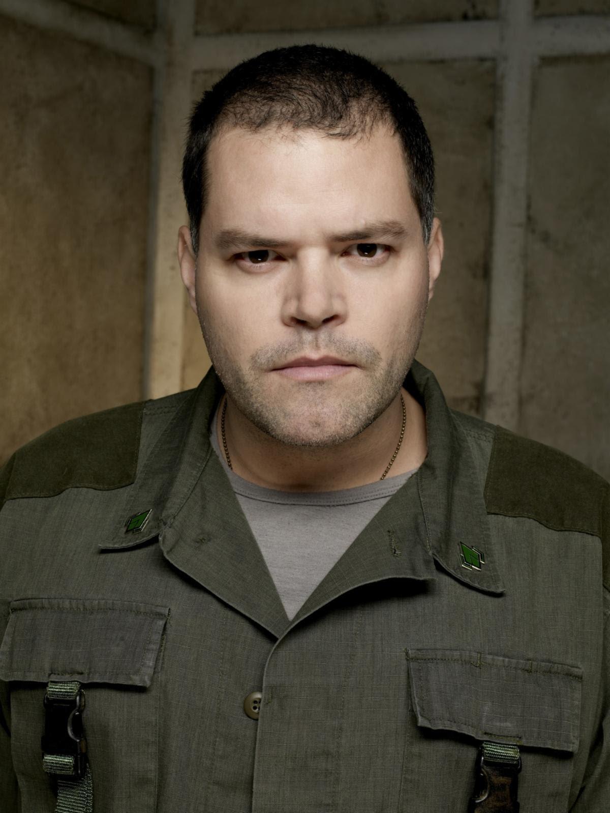 Aaron Douglas in Battlestar Galactica