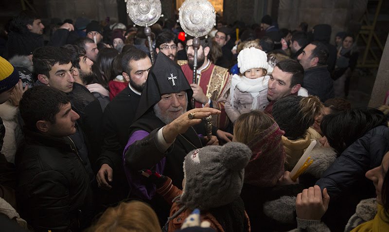 Christmas at Holy Etchmiadzin