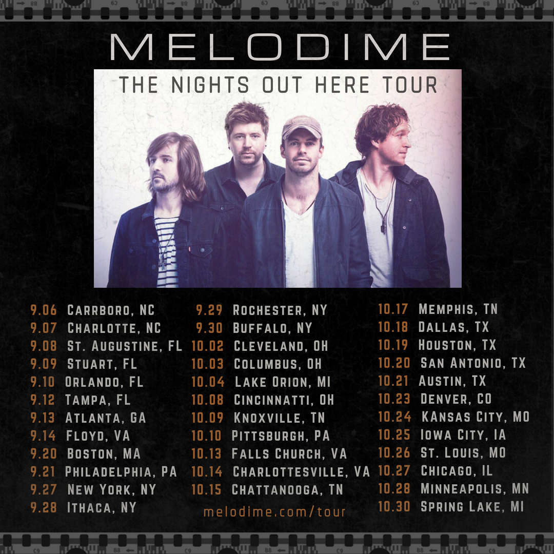 Melodime New Tour Dates Announced