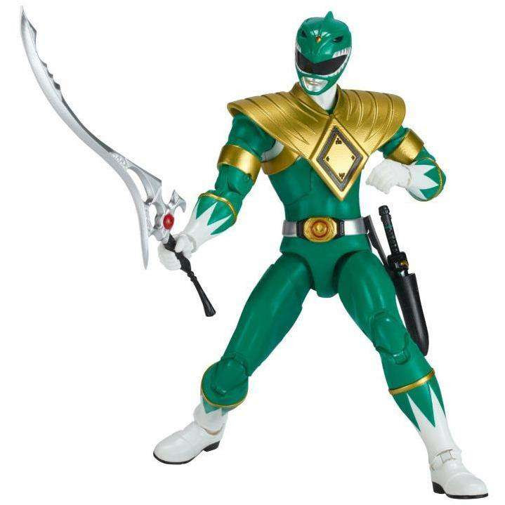 "Image of Mighty Morphin Power Rangers Legacy 6"" Green Ranger - FEBRUARY 2019"
