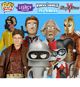 TONS OF NEW FUNKO
