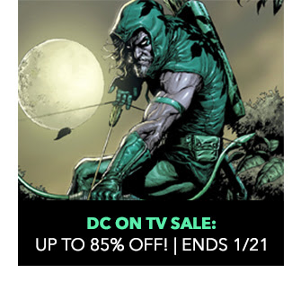 DC on TV Sale: up to 85% off! Sale ends 1/21.