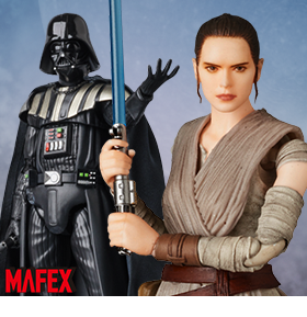 STAR WARS MAFEX FIGURES