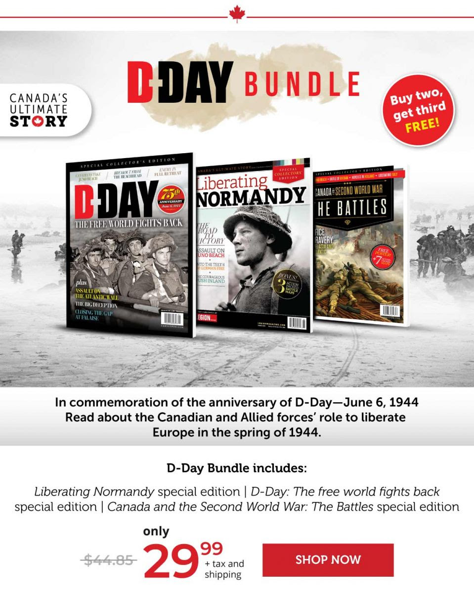 D-Day Bundle – Buy two, get third FREE!