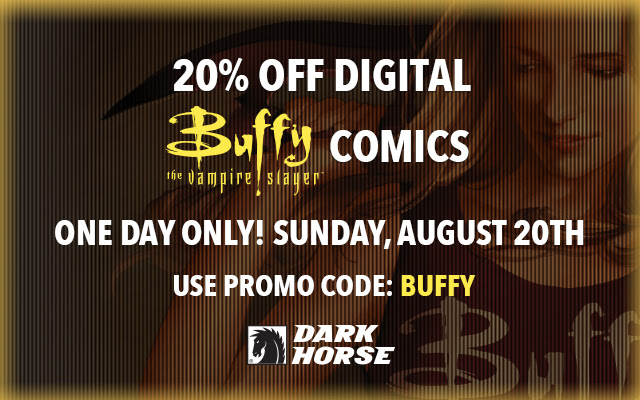 20% off Buffy
