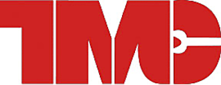 Logo of American Trucking Association's Technology and Maintenance Council (TMC). Feature a large, capital, bolded, red T, M and C.