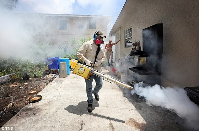 The Morbid Truth About Dibrom Sprayed on Miami Residents to Fight Zika! (Video)