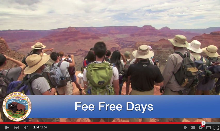 Fee Free Weekend National Parks