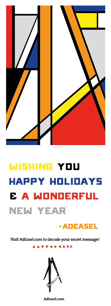 Happy Holidays from AdEasel