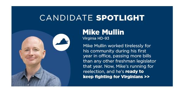 Candidate Spotlight: Delegate Mike Mullin (HD-93)
