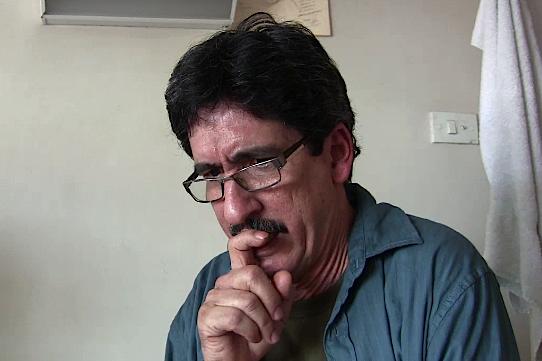 Julián Conrado habla desde la carraca
