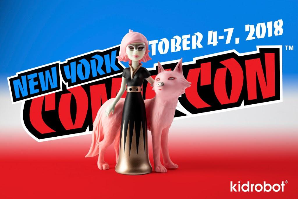 Kidrobot Tara McPherson NYCC Exclusive