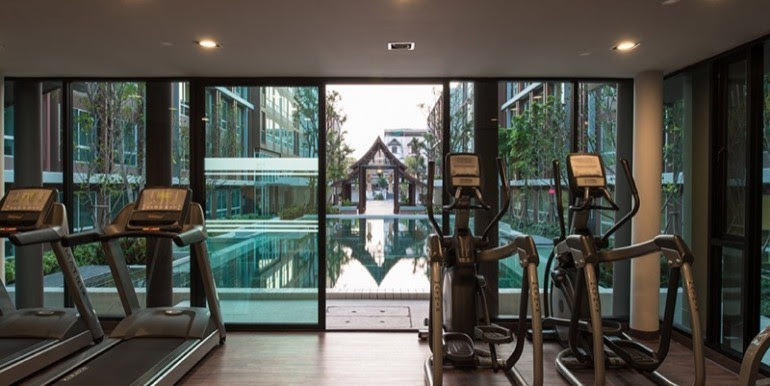 Dvieng-condo-in-Chiang-Mai fitness center