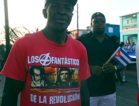 Desfilando en Matanzas. Foto: Periódico Girón./Publicada en Facebook
