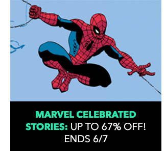 Marvel Celebrated Stories: up to 67% off! Sale ends 6/7.