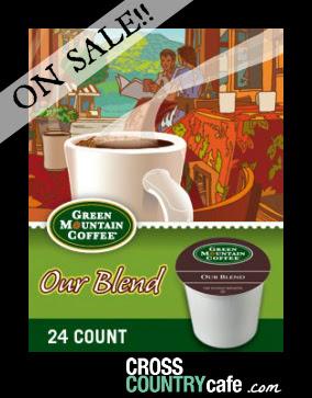 Our Blend Keurig K-cup coffee