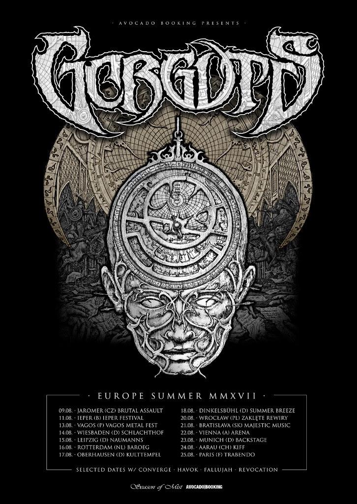 GORGUTS EU 2017 poster