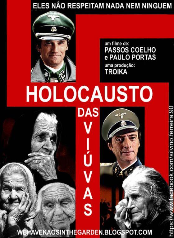 passos coelho paulo portas holocausto das viuvas