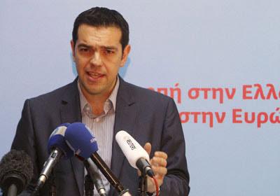 Alexis Tsipras, líder de Syriza.