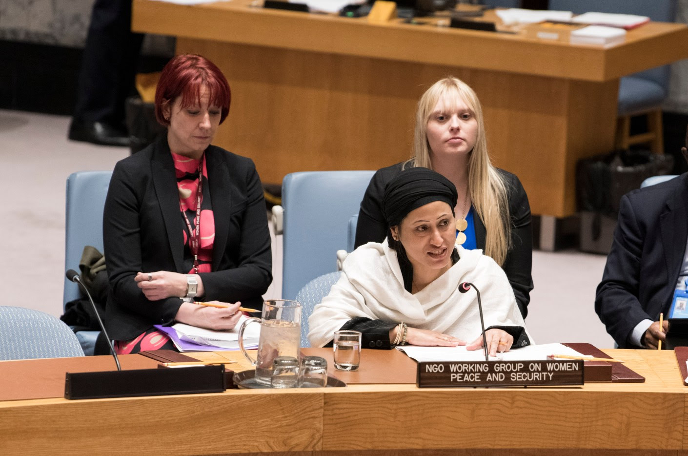 Security Council meeting Women and peace