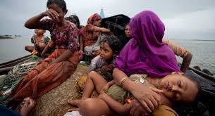 Image result for Pictures of Rohingya people leave the Country
