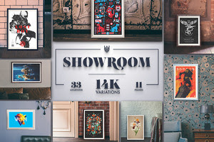 """Showroom"" - Frames Mockups"