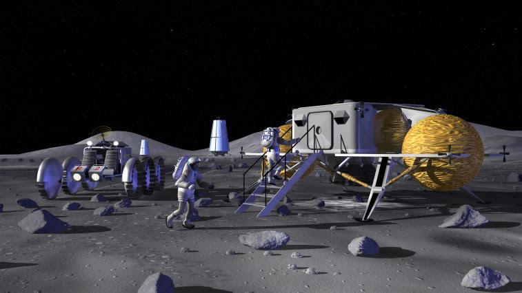 Lunar base conception