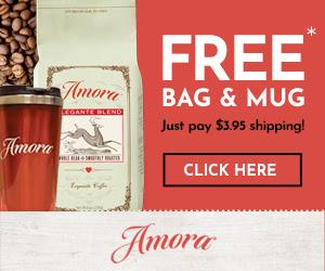 Amora Coffee - First Bag and Mug FREE [435832]