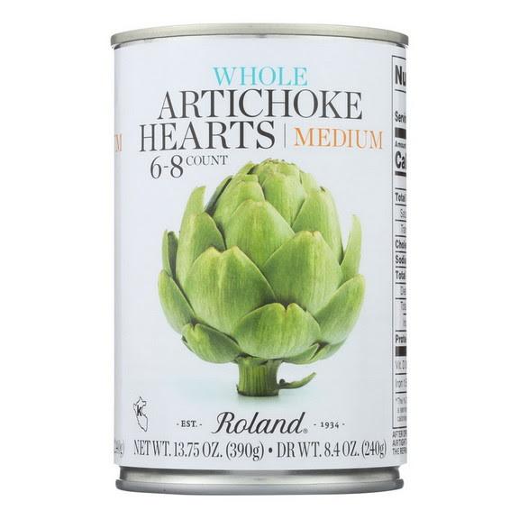Opentip.com: Roland Artichoke Hearts - Extra Large - Case of 12 - 13.75  oz., Price/case