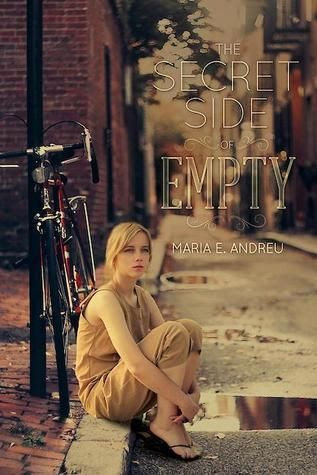 The Secret Side of Empty by Maria E. Andreu | Publisher: Running Press Kids | Publication Date: March 11, 2014 | http://mariaeandreu.com | #YA Contemporary / social issues #immigration  I like the sad/lonely/serious mood of this.  You can tell it's not going to be the book equivalent of a rom com.