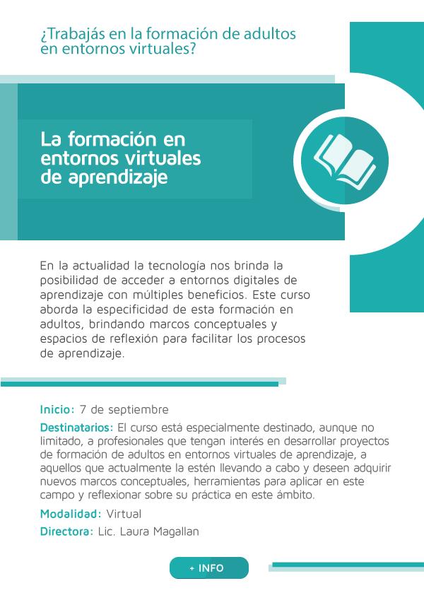 La formación en entornos virtuales de aprendizaje