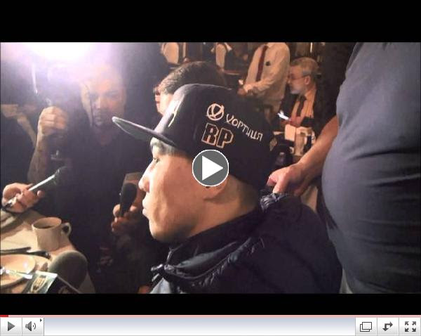 Matthysse - Provodnikov media lunch
